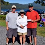 6th Place Team Kahuna - Bill Adams, Patricia Nordahl, John Adams