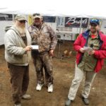 6th Place Team Mole Whisper - Jim Wheaton, Rick Whitener, Greg Ketchum