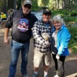 1st Oregon Kokanators - Mark Stephens, Laura  Stephens, Ken Gierke