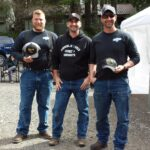 5th Place Team Hoochie Coochies - Jeff Fanning, Charlie Parr, Tj Jensen